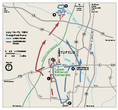 Tupelo National Battlefield Official Map