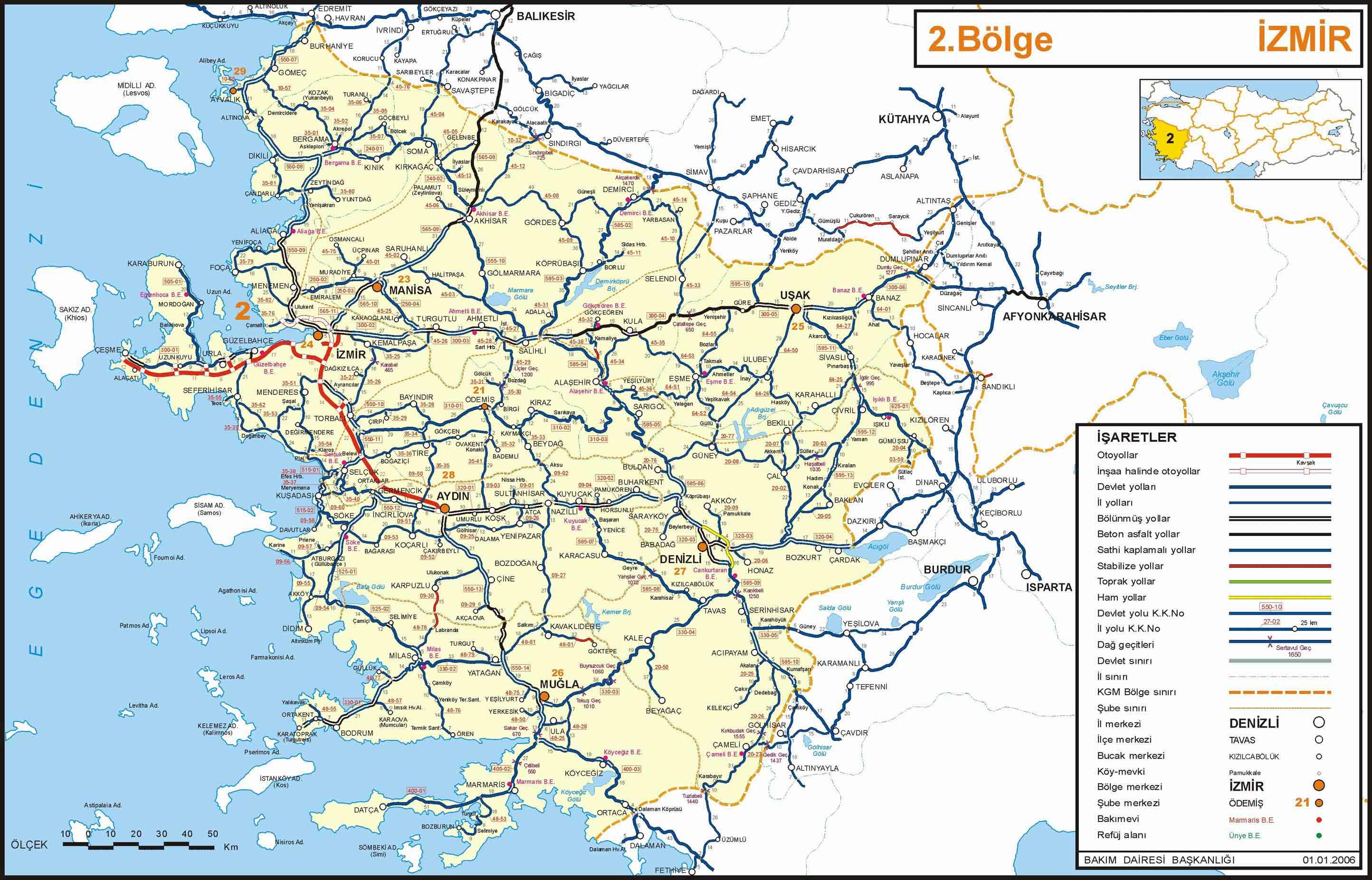 Turkey Map Aydin mappery