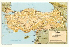 Turkey Tourist Map