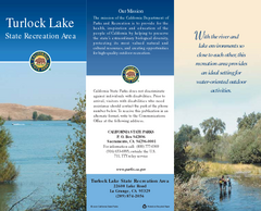 Turlock Lake State Recreation Area Map