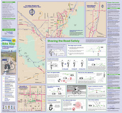 Tuscon Metro Bike Map (Back)