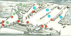 Tussey Mountain Ski Trail Map