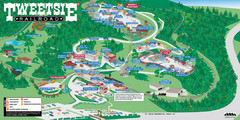 Tweetsie Railroad Park Map
