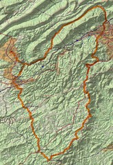 Twelve O'Clock Knob Loop Map