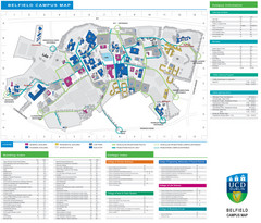 UCD Dublin Map