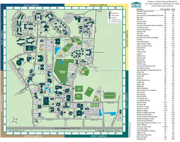 Unc Greensboro Campus Map.Real Life Map Collection Mappery