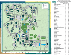 UNC Wilmington Campus Map