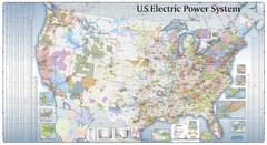 US Electric Power System Map