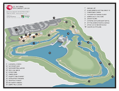US National Whitewater Center Map