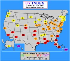 UV Index Map
