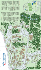 UWG Campus Map