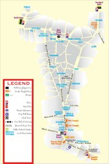 Udaipur Tourist Map