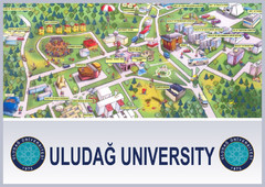 Uludağ University Campus Map