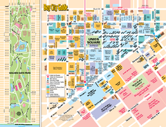 Union Square Tourist Map