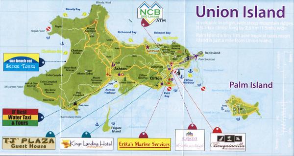 Grenada Island Road Map Grenada mappery