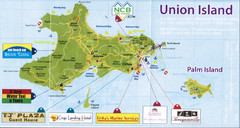 Union island tourist Map