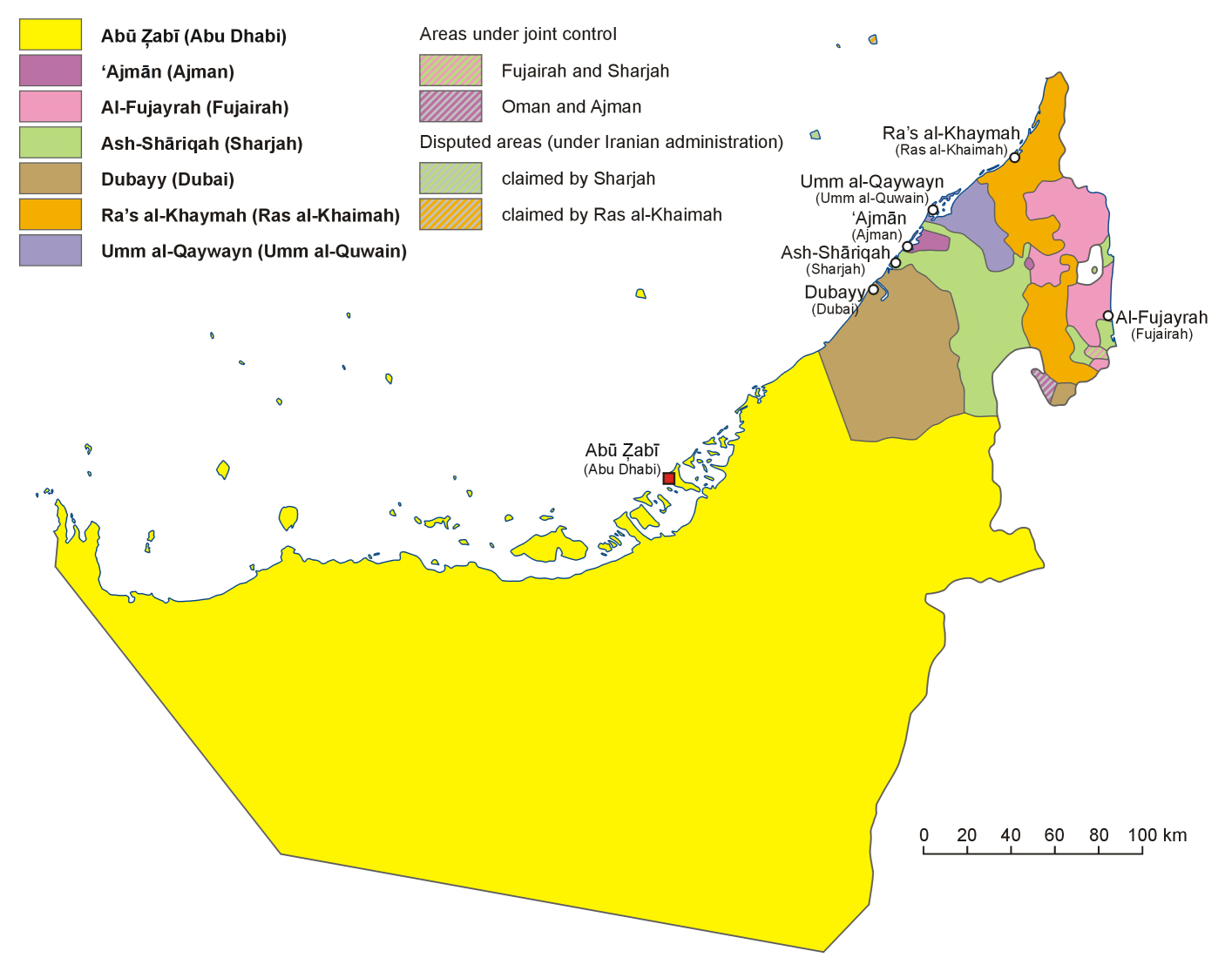 Download united arab emirates map software for your gps map showing united arab emirates country map united arab emirates mappery gumiabroncs Images