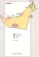 United Arab Emirates Land Use Map