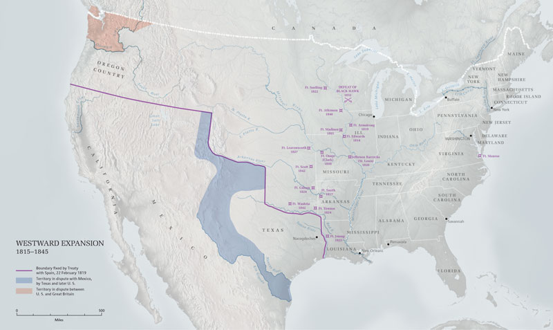 United States Westward Expansion Map additionally westward expansion ...