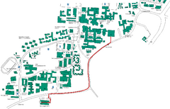 Universität Stuttgart Campus Map