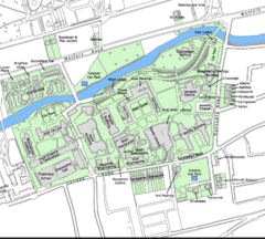 University College Cork Main Campus Map