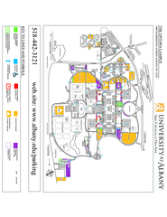 University at Albany Map