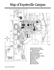 University Of Central Arkansas Campus Map.Real Life Map Collection Mappery