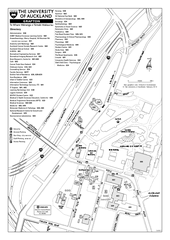 University of Auckland - Grafton Campus Map