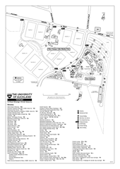 University of Auckland - Tamaki Campus Map