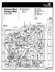 University of Cincinnati - Main Campus Map