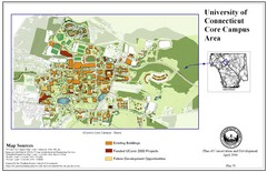 University of Connecticut Campus Map