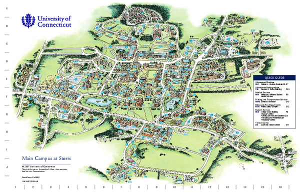 Southern Connecticut State University Campus Map