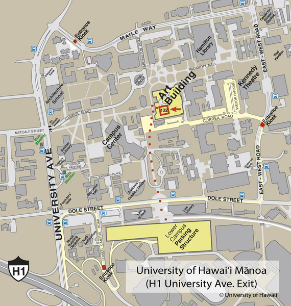 University Of Hawaii At Manoa Campus Map | woestenhoeve on