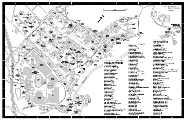 University of Hawaii at Manoa Map