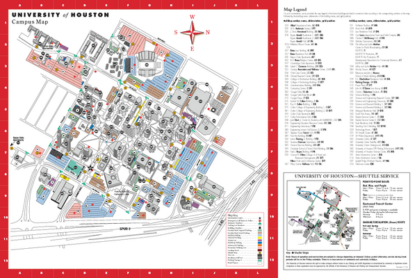 University Of Houston Map   CYNDIIMENNA