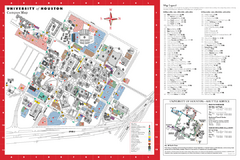 University of Houston Map