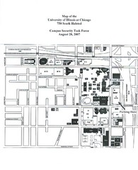 University of Illinios at Chicago Campus Map