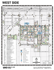 University of Illinois at Chicago - West Map