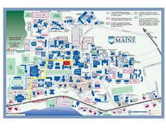 University of Maine Campus Map