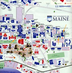 University of Maine Map