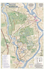 University of Maine Recreation Trails Map