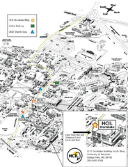 University of Maryland Map