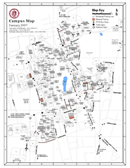 University of Massachusetts - Amherst Map
