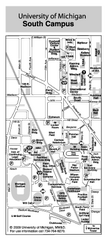 University of Michigan - South Campus Map