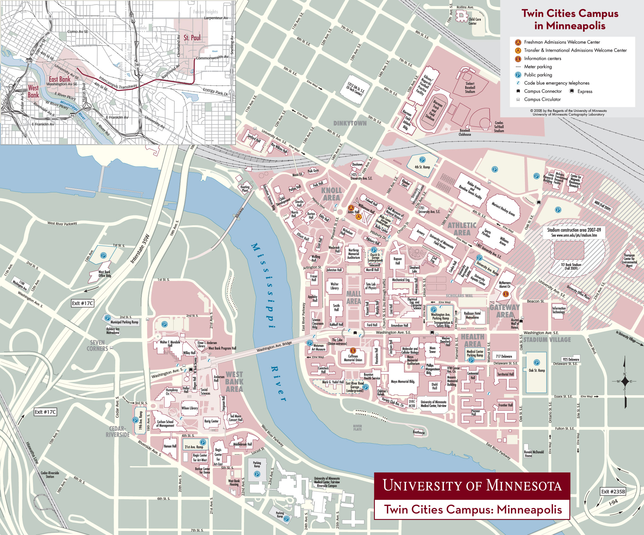 Umn Campus Map   Hermanhissjewelers