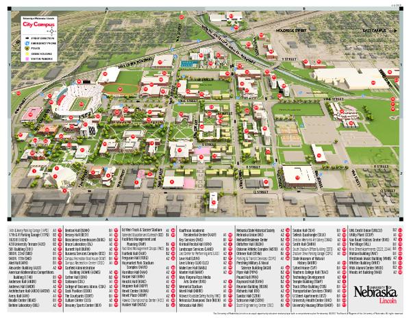 Alfa Img  Showing Gt University Of Nebraska Lincoln Campus Map