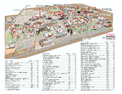 University of Nevada - Las Vegas Campus Map