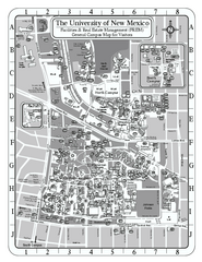 University of New Mexico - Main Campus Map