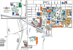 University of North Texas Research Park (NTRP) Map