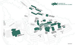 University of Northern British Columbia Campus Map